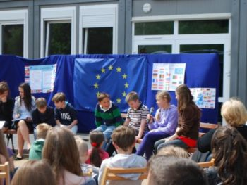 Święto Unii Europejskiej wnaszej Szkole
