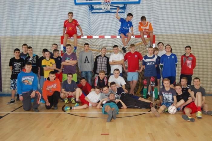 Mistrzostwa Gimnazjum wpiłce nożnej halowej chłopców