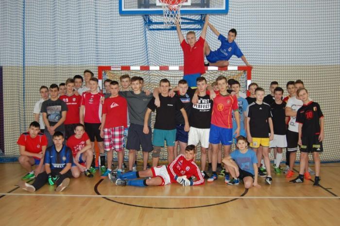 Mistrzostwa Gimnazjum wpiłce nożnej halowej chłopców 2016