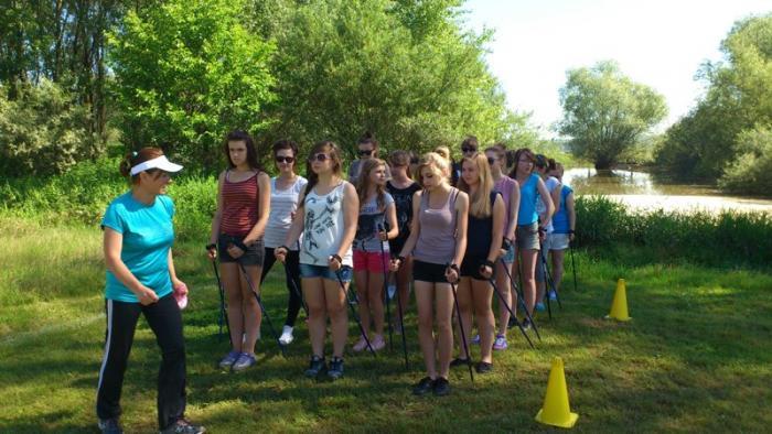 Nordic Walking Mistrzostwa Gimnazjum dziewcząt