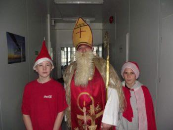 Mikołaj wszkole!