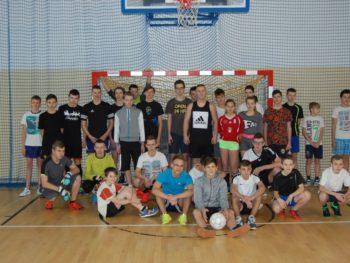 Mistrzostwa Gimnazjum iklasy 7 Szkoły Podstawowej wpiłce nożnej halowej chłopców