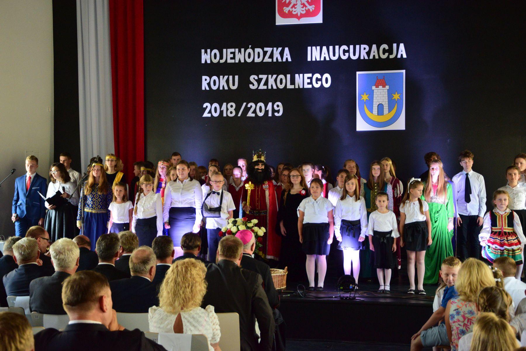 Wojewódzka Inauguracja Roku Szkolnego wnowej szkole