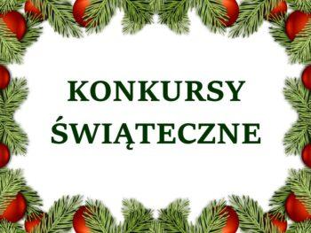 Konkursy świąteczne