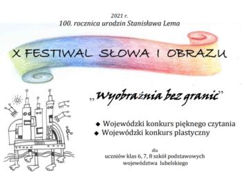 X Festiwal Słowa iObrazu
